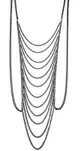 Body Chain Cascata Black