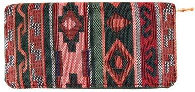 Carteira de Mão Estampa Étnica