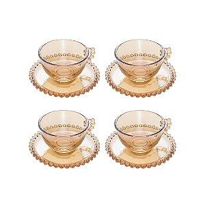 Conjunto Xícara Rojemac C/4 Para chá 200ml