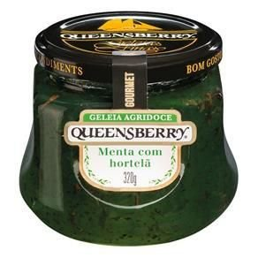 Geleia Queensberry Gourmet Menta com Hortelã 320g