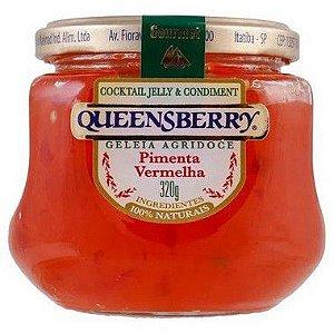 Geleia Queensberry Gourmet Pimenta Vermelha 320g