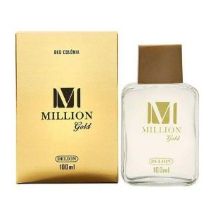 Deo Colônia Delion 100ml Spray Million