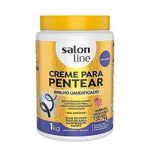 Creme de Pentear Salon Line Brilho Umidificado 1kg