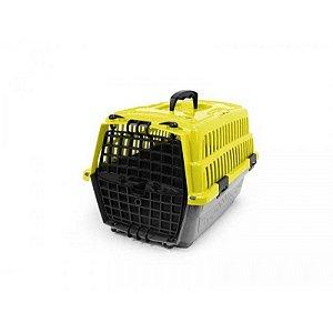 Caixa de Transporte Pet Injet Love Travel 1 Amarela