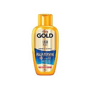 Shampoo Niely Gold Liso Pleno Água Termal 300ml