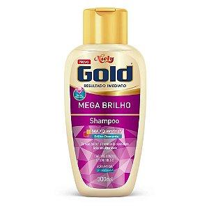 Shampoo Niely Gold Mega Brilho 300ml