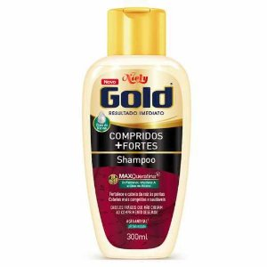 Shampoo Niely Gold Comprimidos+ Fortes 300ml