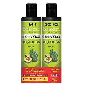 Kit Bellezza Shampoo+ condicionador Óleo Avocado 600ml