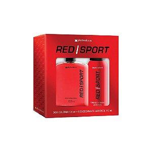 Kit Phytoderm Colônia +Desodorante Red Sport