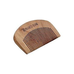 Pente Marco Boni De Madeira Para Barba