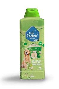 Shampoo Pró Canine 700ml Frutas Maçã Verde