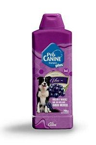 Shampoo Pró Canine 700ml Fruta Uva