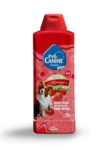 Shampoo Pró Canine 700ml Fruta Morango