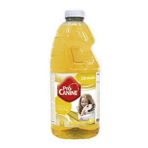 Eliminador De Odores Pró Canine 2L Citronela
