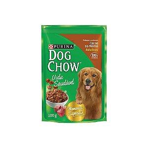 Sache Purina Dog  Chow 100g Carne/Molho