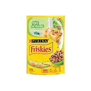 Sache Purina Friskies 85g Mix Peixe/Molho