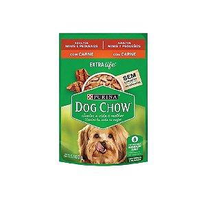 Sachê Purina Dog Show Carne 100g