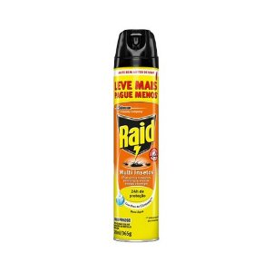 Inseticida Aerossol RAID Leve 450 e Pague 300ml Multi-insetos Citronela