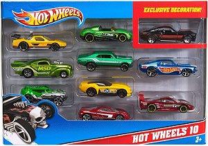 Pacote Carros Mattel C/10 unidades Hothwell