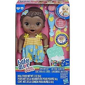 Boneca Hasbro Baby Alive Lanchinho