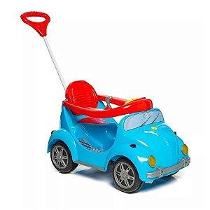 Carro Calesita 998 Com Pedal Fouks Azul