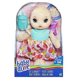 Boneca Hasbro B9720 Baby Alive Hora Sono