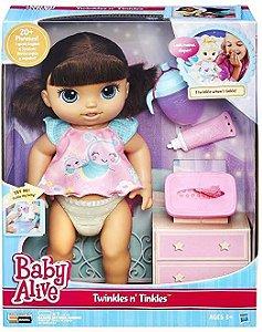 Boneca Hasbro B6052 Baby Alive Fralda Mágica