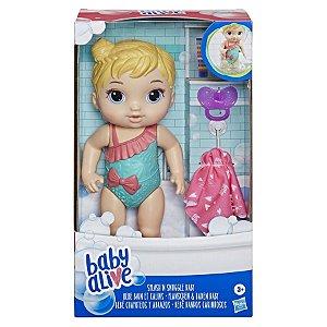 Boneca Hasbro E8716 Baby Alive Bebê Banhos Carinhosos