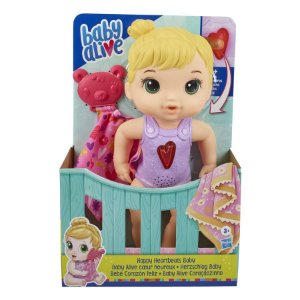 Boneca Hasbro E6946 Baby Alive Coraçãozinho