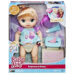 Boneca Hasbro Baby Alive Fralda Mágica