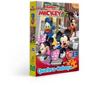 Quebra Cabeça Toyster 100Peças  Mickey