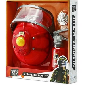 Brinquedo Multikids Kit Bombeiro