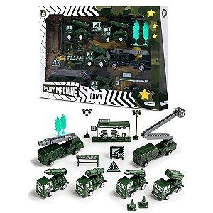 Brinquedo Multikids Play Machine Exército