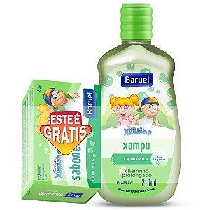 Shampoo Baruel Turma da xuxinha Baby Camomila 210ml