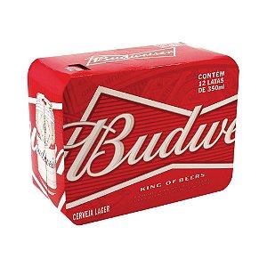 Cerveja Budweiser com 12 Unid. Lata 350ml