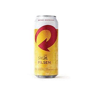 Cerveja Skol Pilsen Lata 473ml