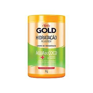 Creme para Tratamento Niely Gold Hidratação Água de Coco 1kg