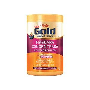 Creme para Tratamento Niely Gold Nutrição Poderosa 1kg