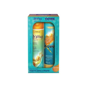 kit Shampoo e Condicionador Novex Óleo Argan 300ml