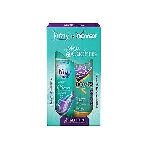 Kit Shampoo e Condicionador Novex Meus Cachos 300ml