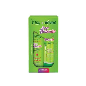 Kit Shampoo e Condicionador Novex Super Babosão 300ml