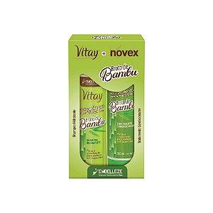 Kit Shampoo e Condicionador Novex Broto de Bambu 300ml