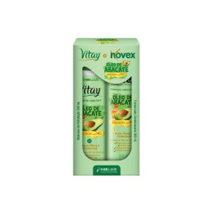 Kit Shampoo e Condicionador Novex Óleo de Abacate 300ml