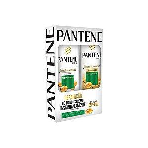 Kit Shampoo Pantene Reparação 175ml e Condicionador 170ml