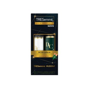 Kit Shampoo Tresemmé Detox Capilar 400ml e Condicionador 200ml