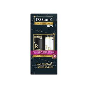 Kit Shampoo Tresemmé Tresplex Regeneração 400ml e Condicionador 200ml