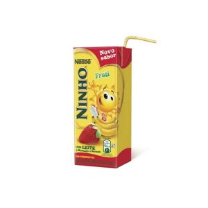 Bebida Láctea Ninho Fruti Morango e Banana 200ml
