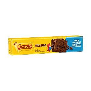 Biscoito Garoto Recheado Chocolate ao Leite 130g