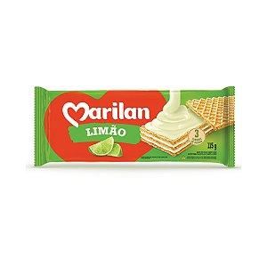 Biscoito Marilan Wafer Limão 80g
