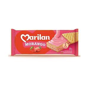 Biscoito Marilan Wafer Morango 80g